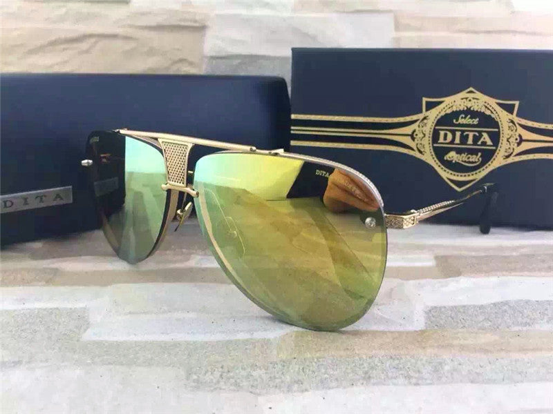 009 Dita Brown Decade Two DRX 2082B 2082-B 18k (20th Anniversary Limited Edtion) Womens Mens Sunglasses for Men Women Sun Glasses Eyewear Shades - WowAwesomeStuff  - 27