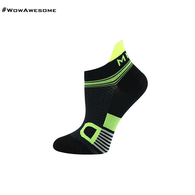 MadMatch Design MMD White Green Womens Mens Sports Boot Ankle Socks for Men Women - WowAwesomeStuff  - 28