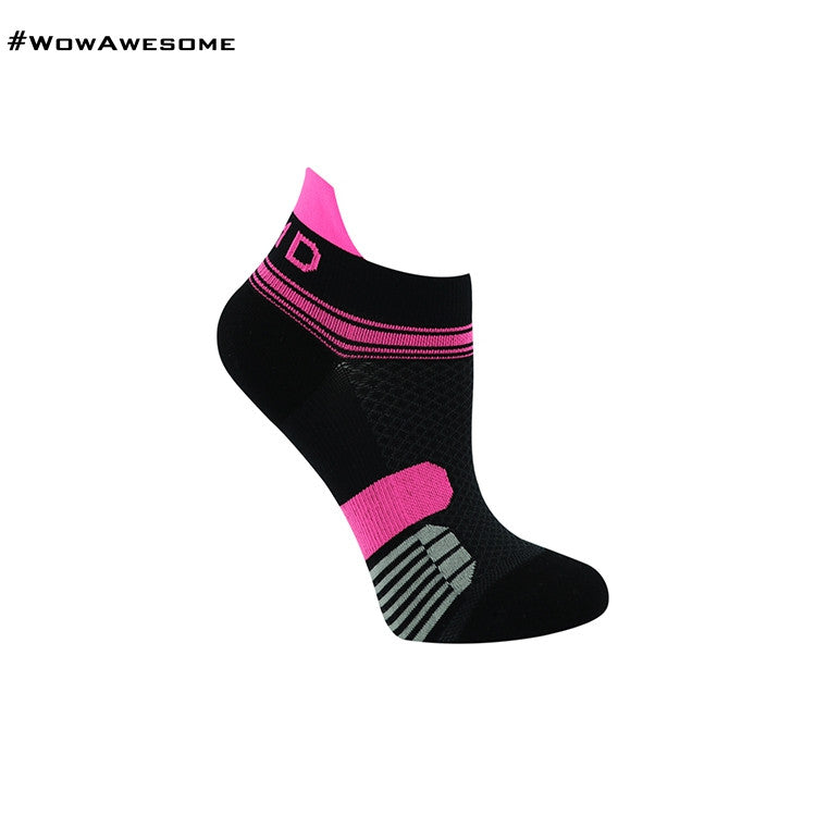 MadMatch Design MMD White Pink Womens Mens Sports Boot Ankle Socks for Men Women - WowAwesomeStuff  - 31