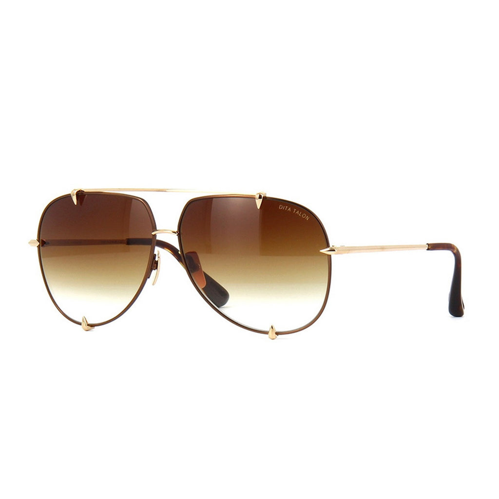 01 Brown Dita Talon 23007B 23007-B 18K Women Mens Sunglasses for Men Women Sun Glasses Eyewear Shades - WowAwesomeStuff  - 1