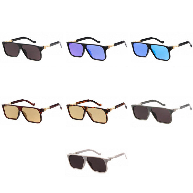 2016 Brand New Design 7 Colors Vinatge Rero Unique Design Handmade Pilot Sunglasses Shades Sun Glasses for Men Women - WowAwesomeStuff  - 7