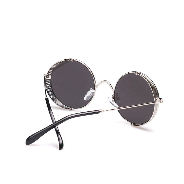 2016 Spring Brand New 6 Colors Retro Vintage Style Steampunk Punk Sunglasses Shades Goggles Sun Glasses for Women Men - WowAwesomeStuff  - 15