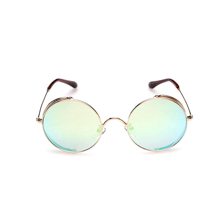 2016 Spring Brand New 6 Colors Retro Vintage Style Steampunk Punk Sunglasses Shades Goggles Sun Glasses for Women Men - WowAwesomeStuff  - 16