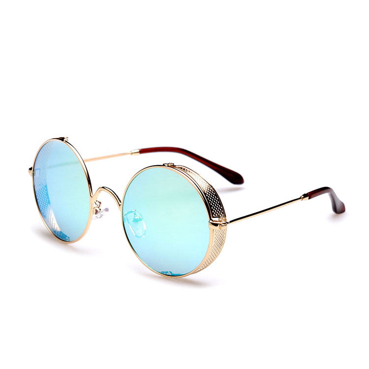 2016 Spring Brand New 6 Colors Retro Vintage Style Steampunk Punk Sunglasses Shades Goggles Sun Glasses for Women Men - WowAwesomeStuff  - 17
