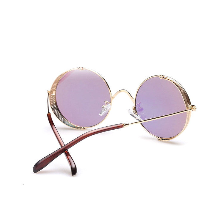 2016 Spring Brand New 6 Colors Retro Vintage Style Steampunk Punk Sunglasses Shades Goggles Sun Glasses for Women Men - WowAwesomeStuff  - 18