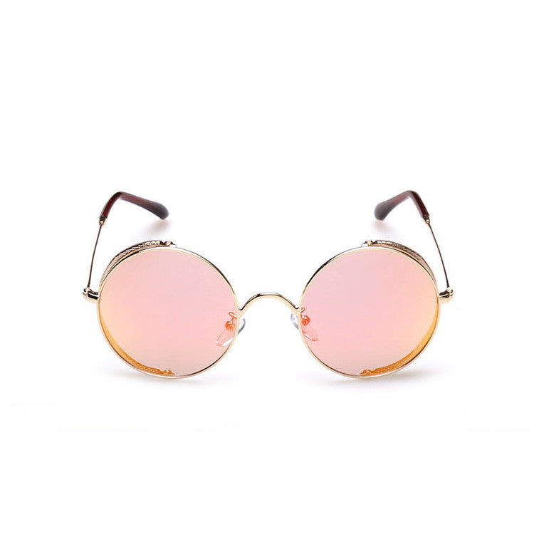 2016 Spring Brand New 6 Colors Retro Vintage Style Steampunk Punk Sunglasses Shades Goggles Sun Glasses for Women Men - WowAwesomeStuff  - 19