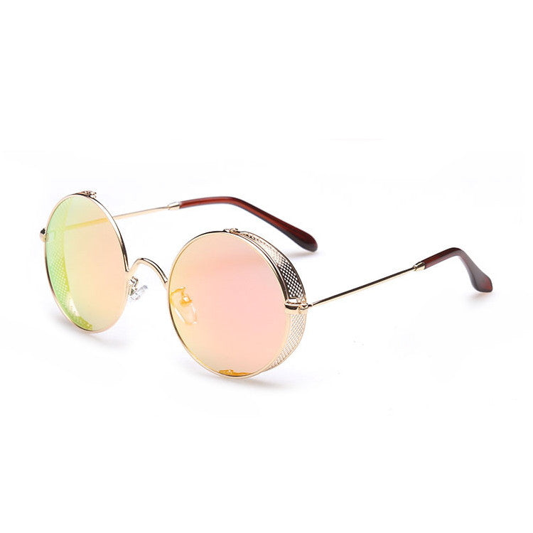 2016 Spring Brand New 6 Colors Retro Vintage Style Steampunk Punk Sunglasses Shades Goggles Sun Glasses for Women Men - WowAwesomeStuff  - 20