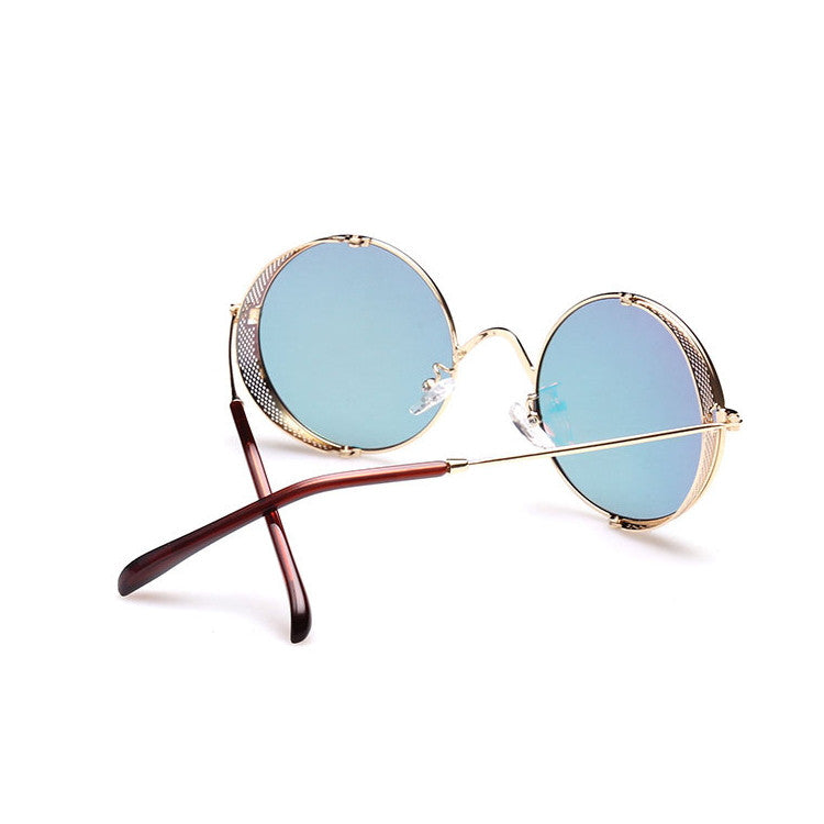 2016 Spring Brand New 6 Colors Retro Vintage Style Steampunk Punk Sunglasses Shades Goggles Sun Glasses for Women Men - WowAwesomeStuff  - 21