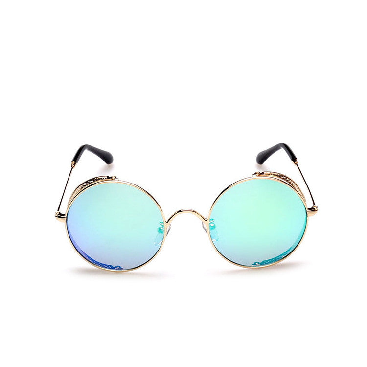 2016 Spring Brand New 6 Colors Retro Vintage Style Steampunk Punk Sunglasses Shades Goggles Sun Glasses for Women Men - WowAwesomeStuff  - 10