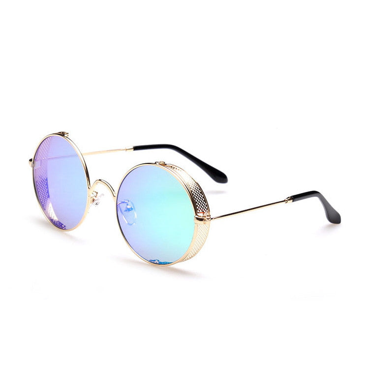 2016 Spring Brand New 6 Colors Retro Vintage Style Steampunk Punk Sunglasses Shades Goggles Sun Glasses for Women Men - WowAwesomeStuff  - 11