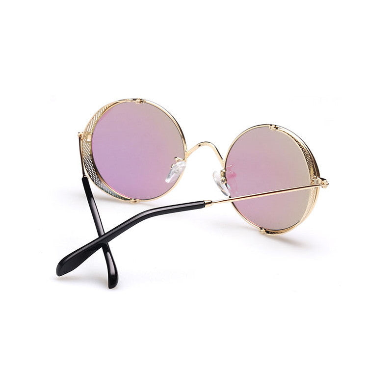 2016 Spring Brand New 6 Colors Retro Vintage Style Steampunk Punk Sunglasses Shades Goggles Sun Glasses for Women Men - WowAwesomeStuff  - 12