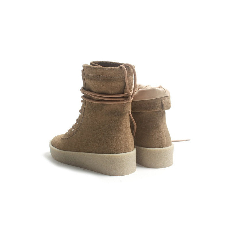 Kanye West Yeezy Season 2 Brown Womens Mens Boots