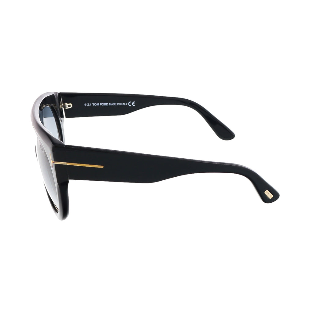 Tom Ford Oval Black TF360 Alana 01B Black/Gold FT0360 Aviator Mens Womens Sunglasses Shades Sun Glasses