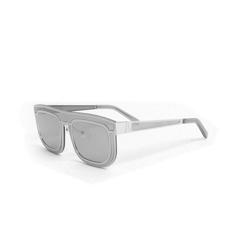 A.D.S.R HOT/2 Grey Designer Titanium Texture Men Women Sunglasses