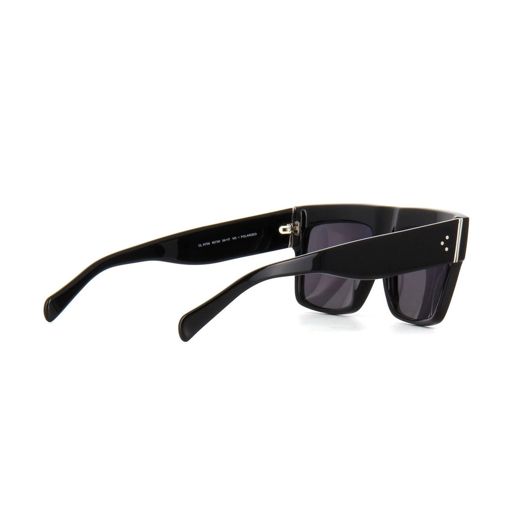 Celine CL 41066S 807TD Black Retro Womens Mens Sunglasses Shade Sun Glasses Eyewear