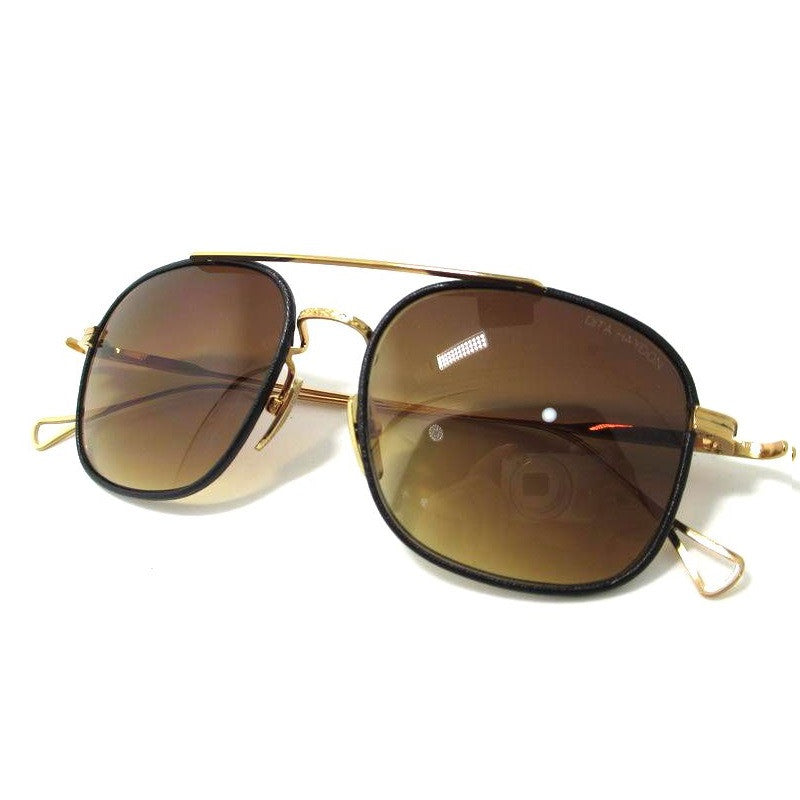 Dita Haydon DRX 2042B 2042-B 18K Brown Womens Mens Sunglasses