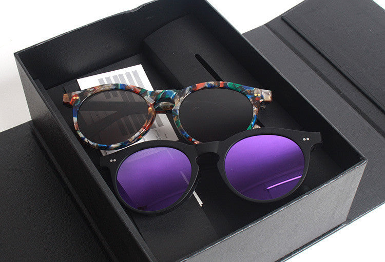 Gentle Monster RTD2 Purple Women Men Cat Eye Sunglasses