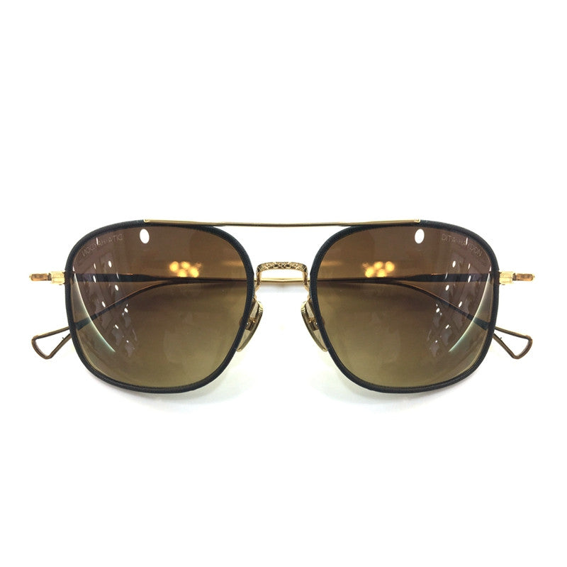 Dita Haydon DRX 2042B 18K Brown Women Men Sunglasses