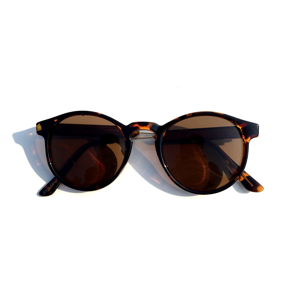 Very Popular WowAwesome Unique Design Brown Cat Eyes Retro Vintage Style Sunglasses Goggle Shades - WowAwesomeStuff  - 2