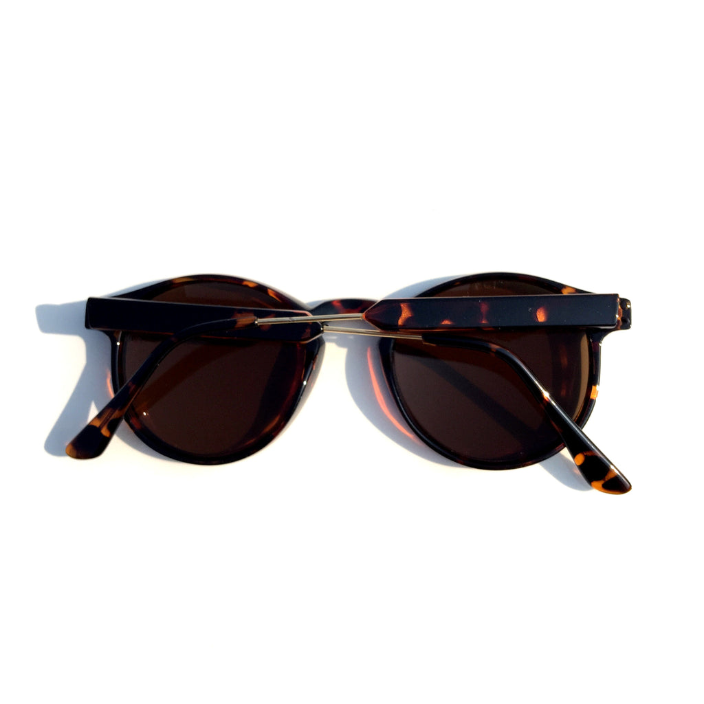 Very Popular WowAwesome Unique Design Brown Cat Eyes Retro Vintage Style Sunglasses Goggle Shades - WowAwesomeStuff  - 3