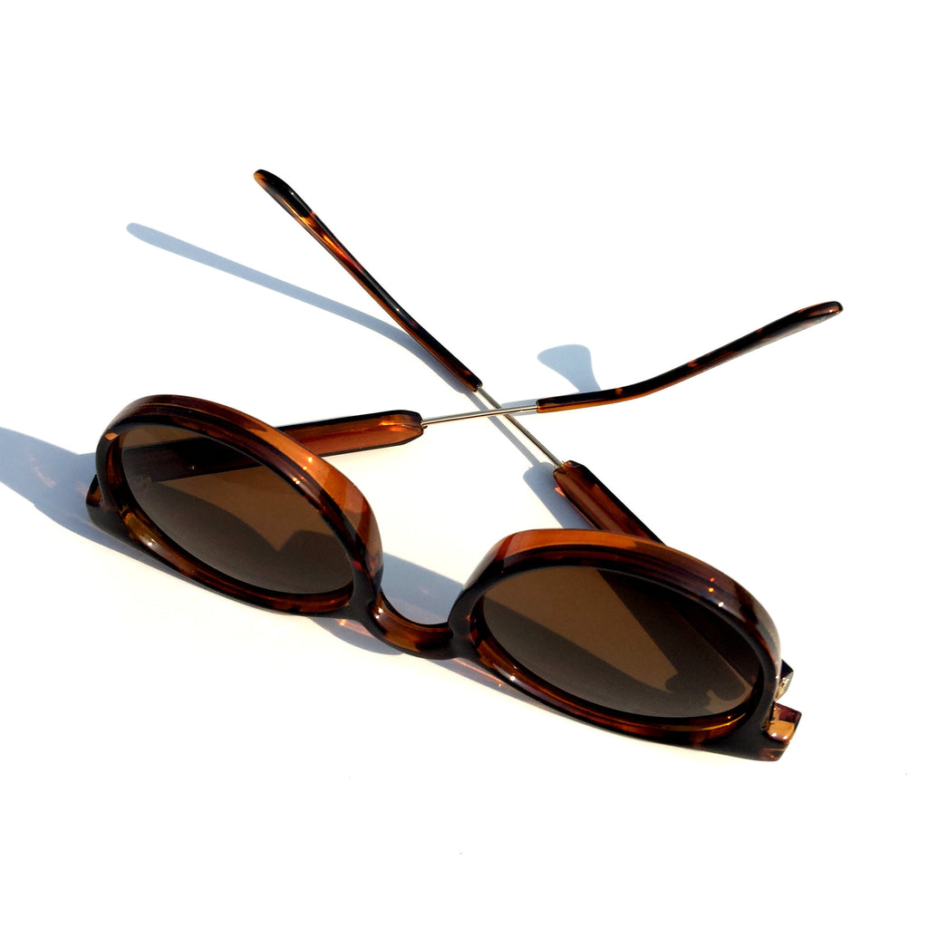 Very Popular WowAwesome Unique Design Brown Cat Eyes Retro Vintage Style Sunglasses Goggle Shades - WowAwesomeStuff  - 6