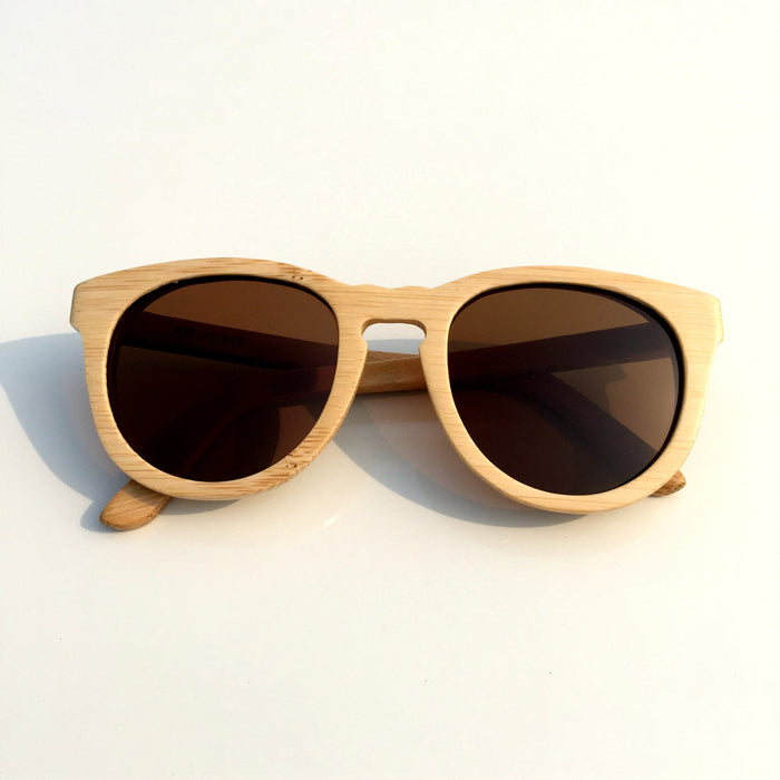 2016 Brand New Bamboo Handmade Cat Eye Wood Sunglasses Goggle Shades Sun Glasses - WowAwesomeStuff  - 1