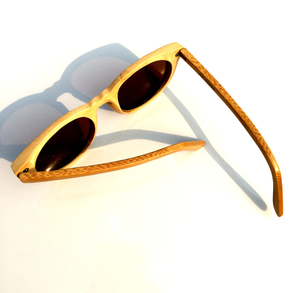 2016 Brand New Bamboo Handmade Cat Eye Wood Sunglasses Goggle Shades Sun Glasses - WowAwesomeStuff  - 5
