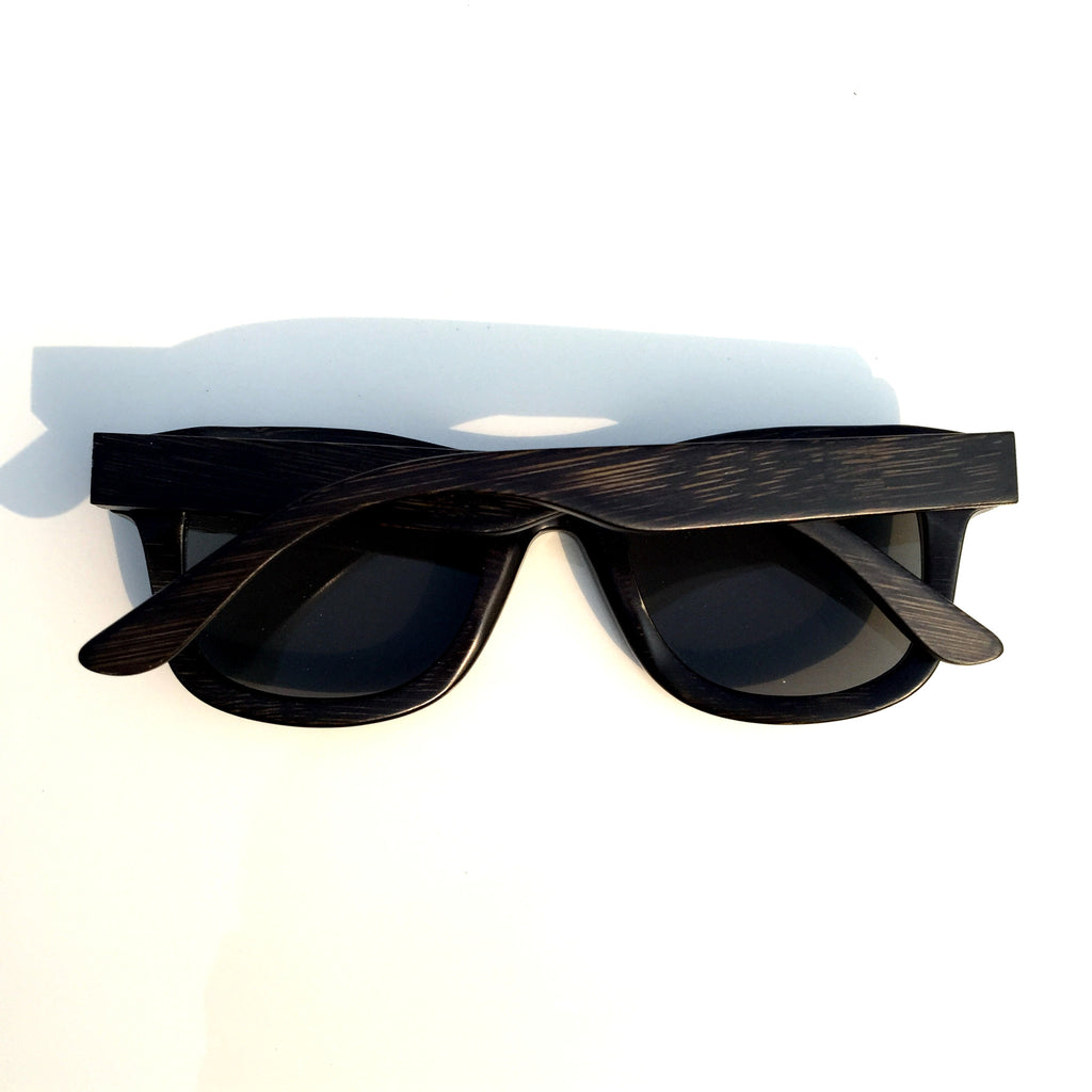 Unique Pilot Design Gray Wood Handmade Women Men Wood Sunglasses Goggle Shades Sun Glasses - WowAwesomeStuff  - 3