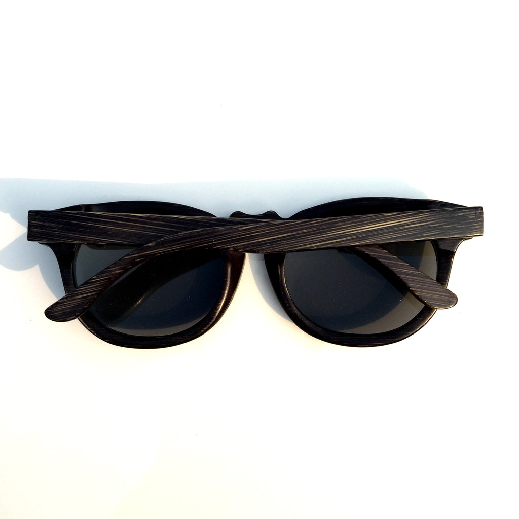 Cat Eyes Retro Vintage Handmade Wood Bamboo Sunglasses Shades Goggles - WowAwesomeStuff  - 3