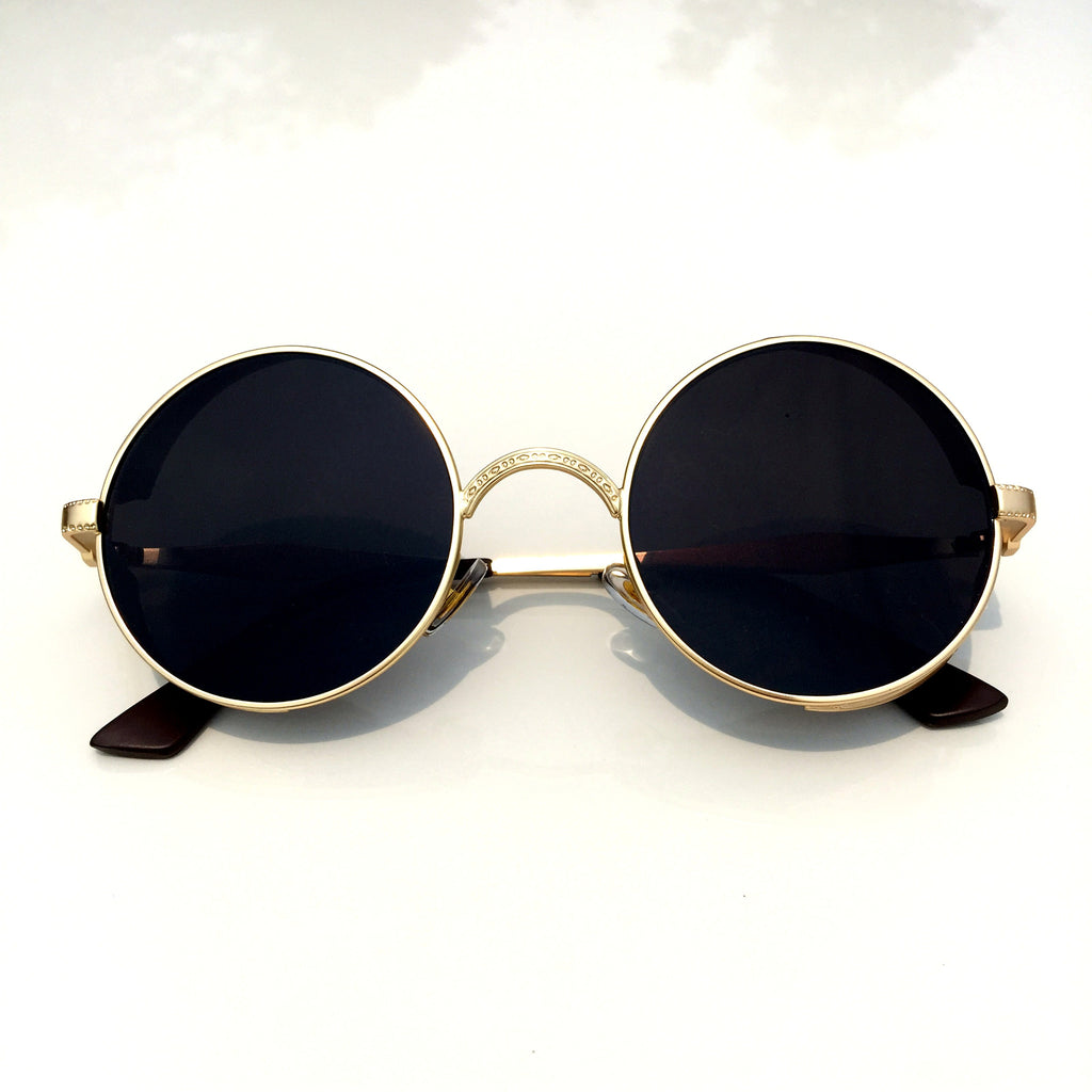 1 Unique Design Black Retro Steampunk Punk Burning Man Sunglasses Shades Sunnies Goggles for Men Women - WowAwesomeStuff  - 2