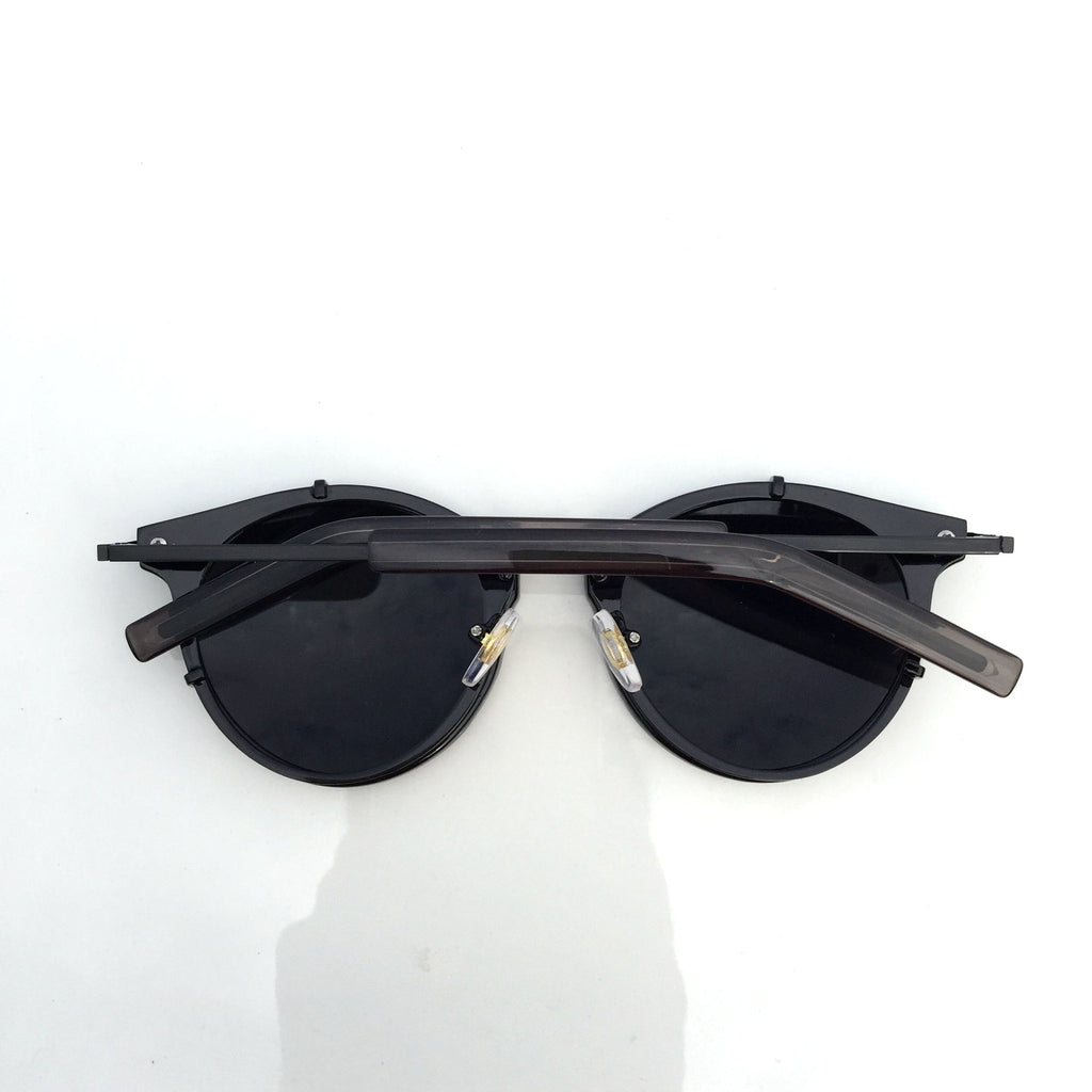 2015 New Design Black Burning Man Women Cat Eyes Steampunk Pilot Sunglasses Shades Sun Glasses - WowAwesomeStuff  - 3