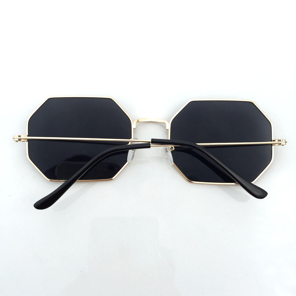 2015 Unique Design Black Octangle Steampunk Punk Burning Man Sunglasses Shades Sunnies Sun Glasses - WowAwesomeStuff  - 3