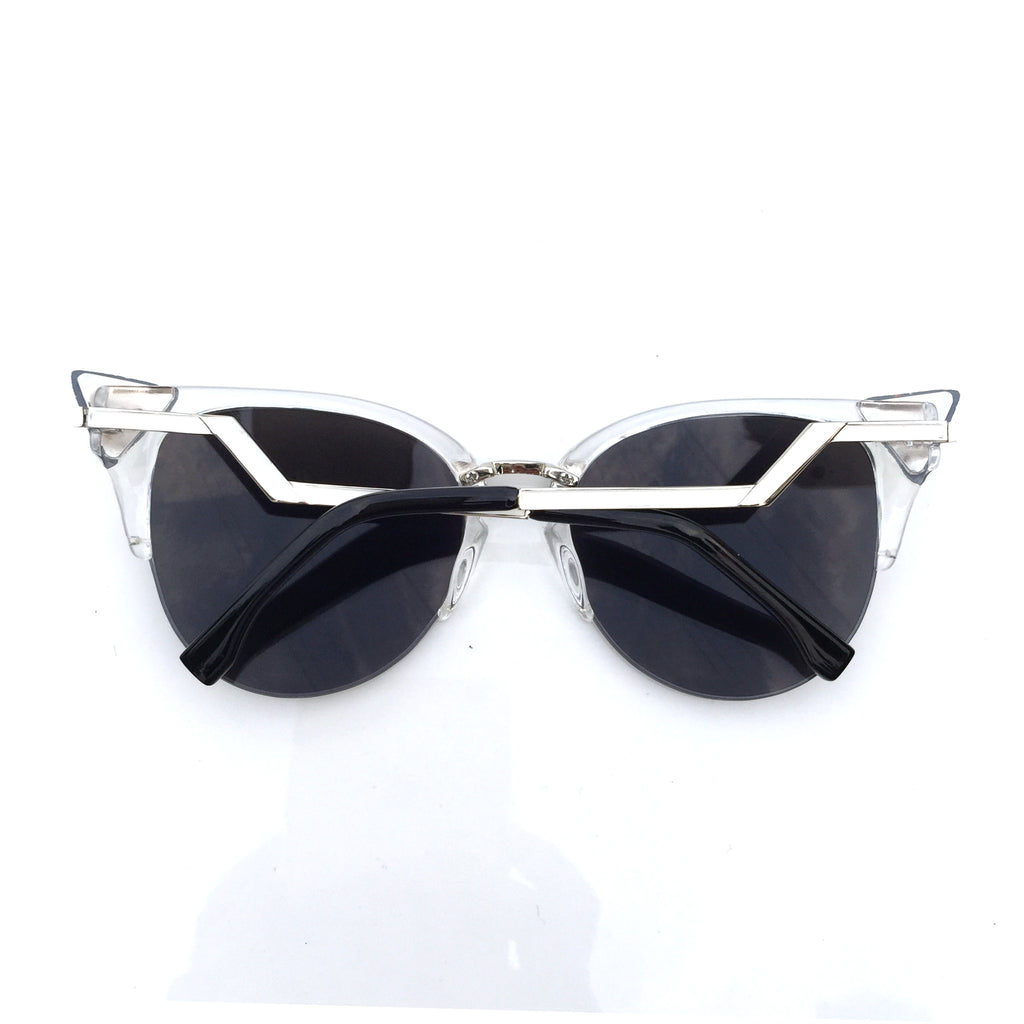 Burning Man Mirror Silver Steampunk Unique Sunglasses Shades Sunnies for Men Women - WowAwesomeStuff  - 5