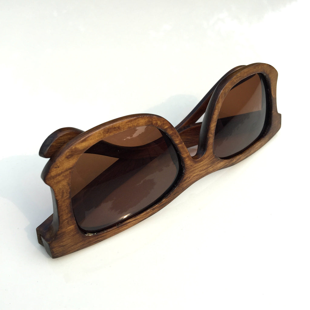 Unique Design Top Quality Aviator Women Men Wood Sunglasses Shades Sun Glasses - WowAwesomeStuff  - 3