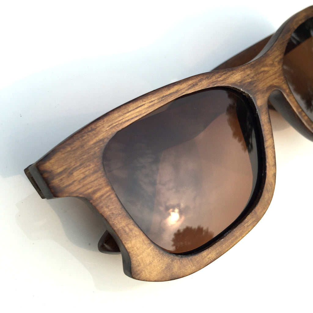 Unique Design Top Quality Aviator Women Men Wood Sunglasses Shades Sun Glasses - WowAwesomeStuff  - 5