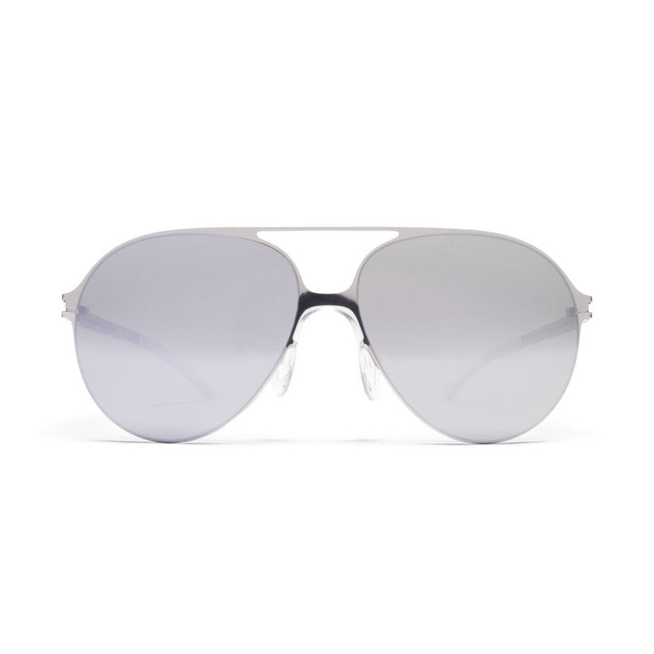 Mykita HANSI BERNHARD WILLHELM Silver Mirror Womens Mens Aviator Sunglasses Goggles Shades Sun Glasses