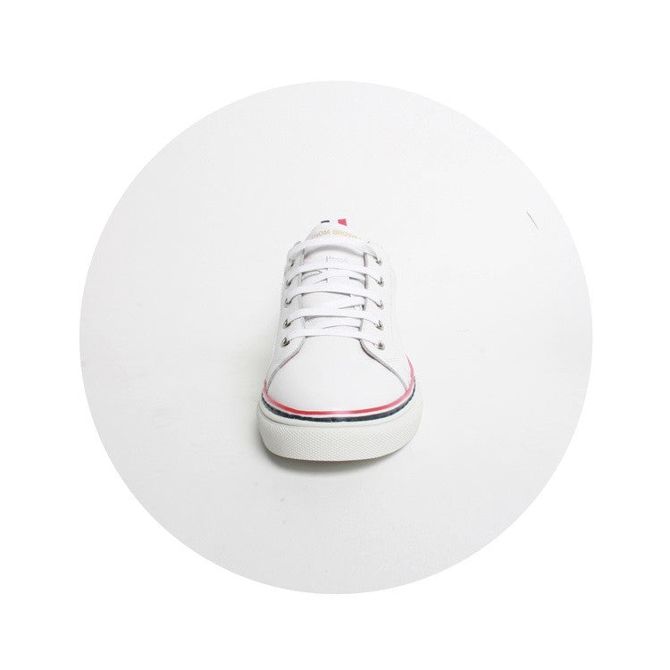 Thom Browne Real Leather Mens Womens Casual Shoes