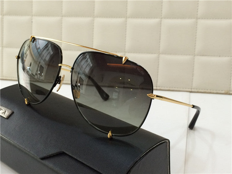 01 Brown Dita Talon 23007B 23007-B 18K Women Mens Sunglasses for Men Women Sun Glasses Eyewear Shades - WowAwesomeStuff  - 58