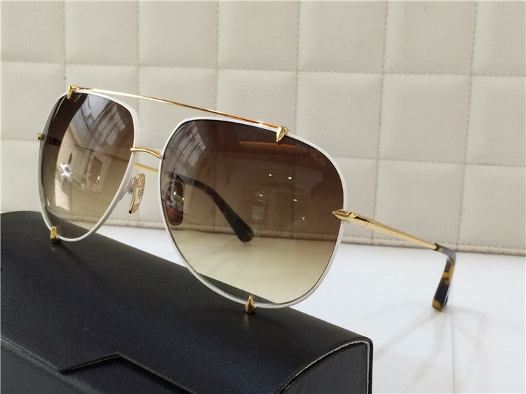 01 Brown Dita Talon 23007B 23007-B 18K Women Mens Sunglasses for Men Women Sun Glasses Eyewear Shades - WowAwesomeStuff  - 60