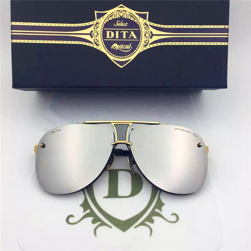 009 Dita Brown Decade Two DRX 2082B 2082-B 18k (20th Anniversary Limited Edtion) Womens Mens Sunglasses for Men Women Sun Glasses Eyewear Shades - WowAwesomeStuff  - 15