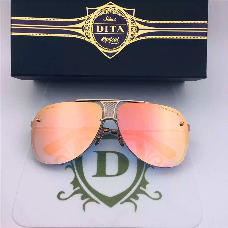 009 Dita Brown Decade Two DRX 2082B 2082-B 18k (20th Anniversary Limited Edtion) Womens Mens Sunglasses for Men Women Sun Glasses Eyewear Shades - WowAwesomeStuff  - 17