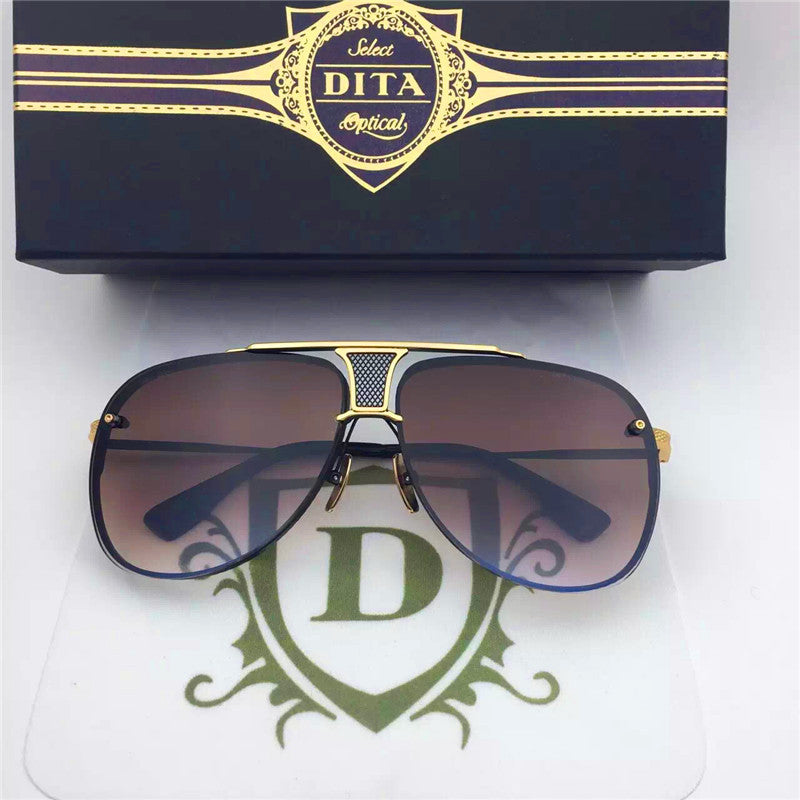 009 Dita Brown Decade Two DRX 2082B 2082-B 18k (20th Anniversary Limited Edtion) Womens Mens Sunglasses for Men Women Sun Glasses Eyewear Shades - WowAwesomeStuff  - 23