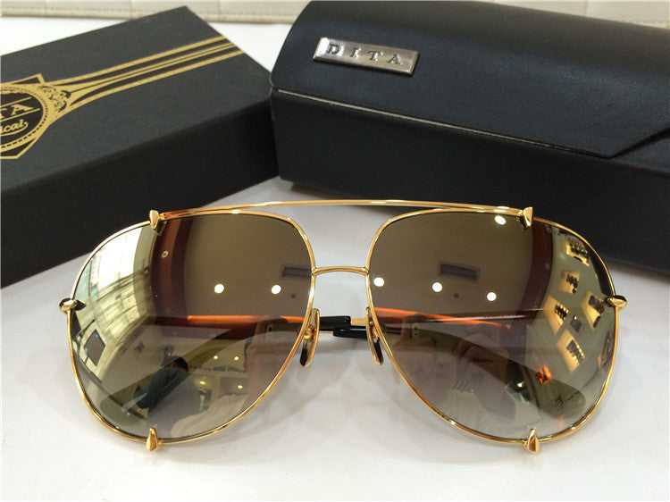 01 Brown Dita Talon 23007B 23007-B 18K Women Mens Sunglasses for Men Women Sun Glasses Eyewear Shades - WowAwesomeStuff  - 54