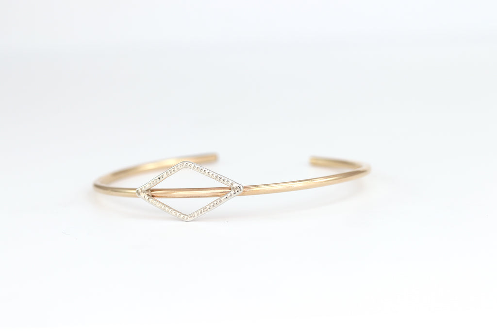 Diamond Sunburst Cuff