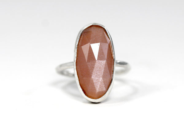 Oval Gem Ring