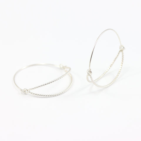 Hammock Hoop Earrings