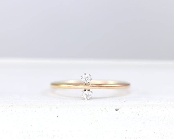 R042 Duo Stacking Ring