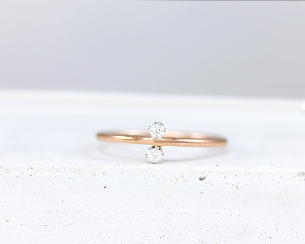 Duo Stacking Ring