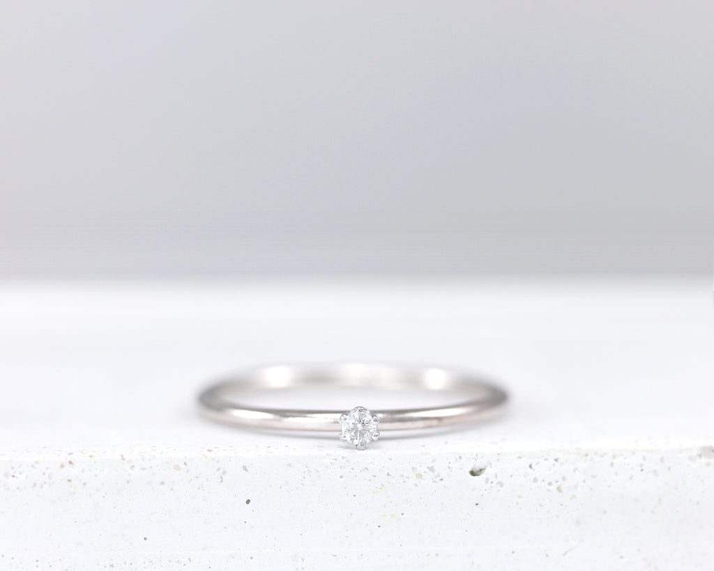 Mini Sparkler Stacking Ring