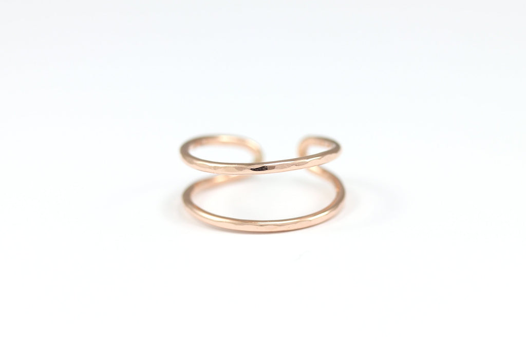 Parallel Cuff Ring